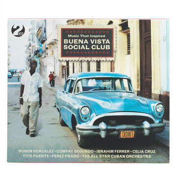 Various Artists - Music That Inspired Buena Vist - CD