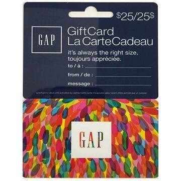 Gap Gift Card - $25
