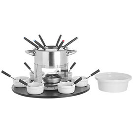 Trudeau Lazy Susan 3-in-1 Fondue Set