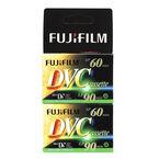 Fujifilm Mini DV Cassette - 60 Minutes - 2 Pack