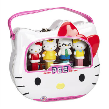 Hello Kitty Pez Gift Tin - 4 piece
