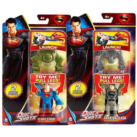 Superman Quick Shots Figure - Assorted