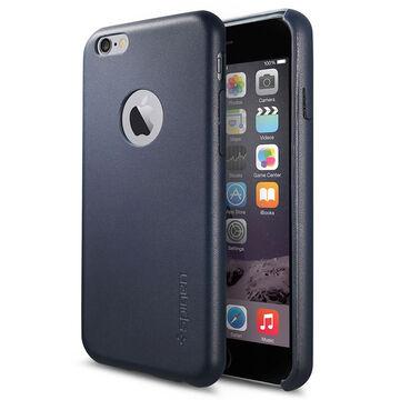 Spigen Leather Fit Case for iPhone 6 - Black - SGP11371