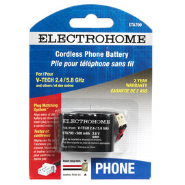 Electrohome Cordless Phone Battery - ETA700