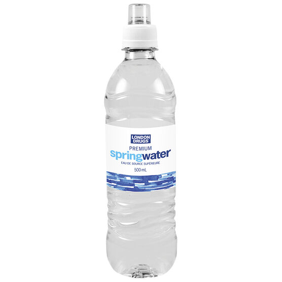 London Drugs Premium Spring Water with Sport Cap - 500ml
