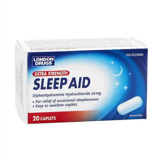 London Drugs Extra Strength Sleep Aid Caplets - 20's
