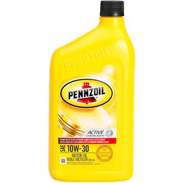 Pennzoil 10W-30 Motor Oil - 946ml