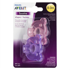 Avent Soothie Shapes Pacifier - Girl - SCF194/02