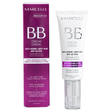 marcelle bb cream anti aging spf 20 medium to dark 40ml london drugs. Black Bedroom Furniture Sets. Home Design Ideas