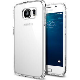 Spigen Ultra Hybrid Case for Samsung Galaxy S6 - Crystal Clear - SGP11440