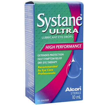 Systane Ultra Lubricant Eye Drops - High Performance - 10ml
