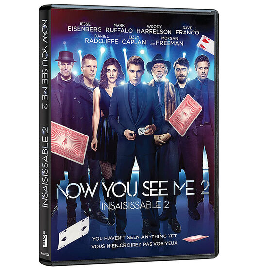 Now You See Me 2 - DVD