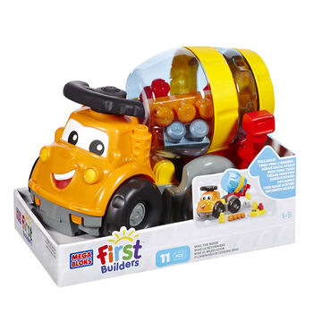 Mega Bloks First Builders Mike The Mixer - 11 Piece