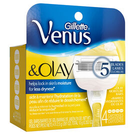 Gillette Venus and Olay Razor Blades - 4's