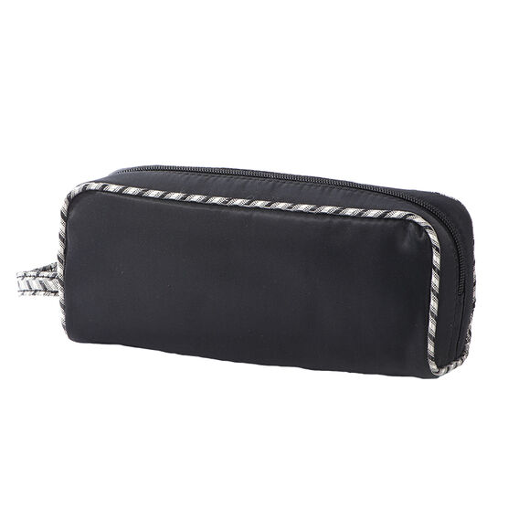Modella Jacquard Rectangular Kit Bag - Black - A000268LDC