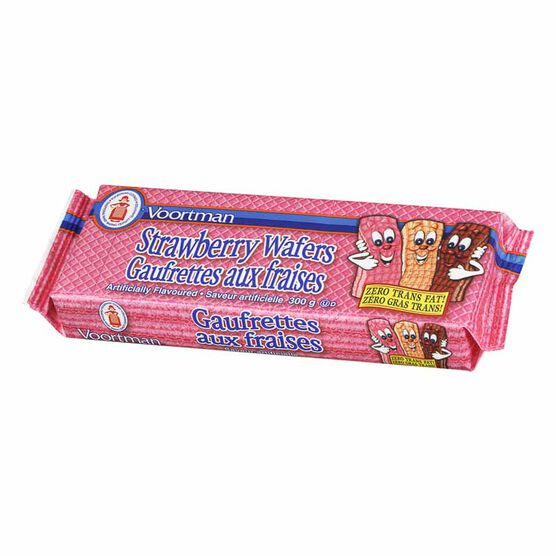 Voortman Strawberry Wafers - 300g