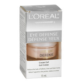 L'Oreal Dermo-Expertise Eye Defense Eye Contour Gel-Cream - 15mL