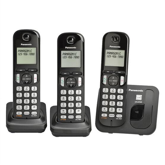 Panasonic Dect 3 Handset with Caller ID - KX-TGC213B