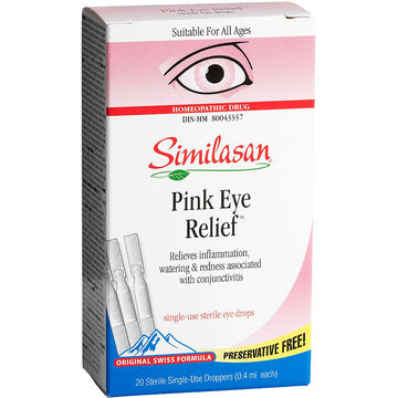 Similasan Pink Eye - 20 x .4ml