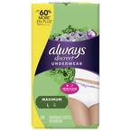 Always Discreet Underwear Maximum - Large - 28's