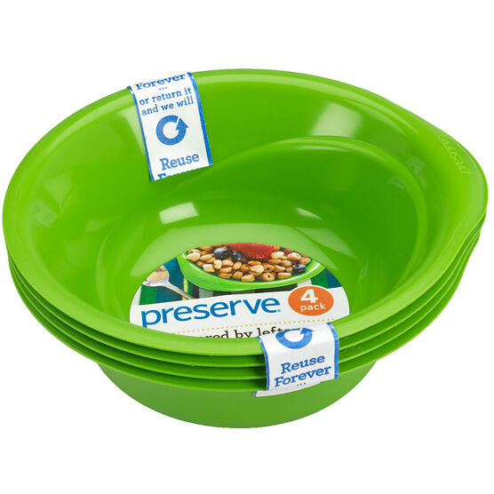 Preserve Everyday Bowl - Green - Set of 4