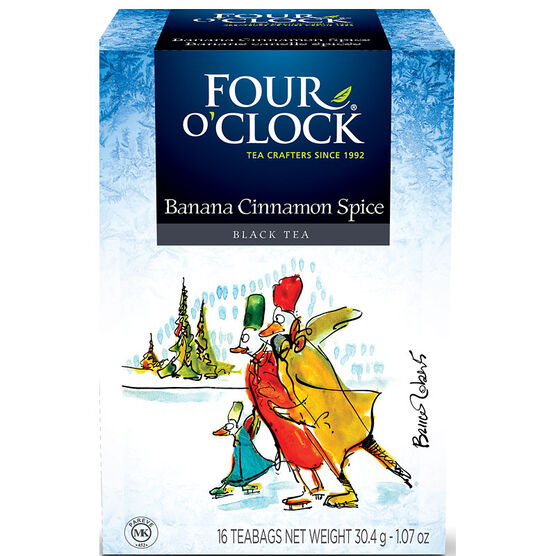Four O'Clock Banana Cinnamon Spice Black Tea - 16's