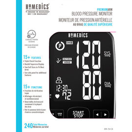 Homedics Premium Arm Blood Pressure Monitor - BPA-750-CA