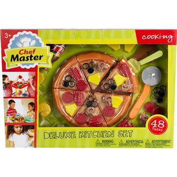 Chef Master Deluxe Kitchen Pizza Set - 48 piece