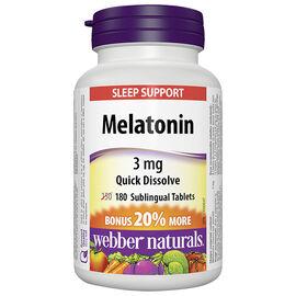Webber Naturals Melatonin 3mg - 150's