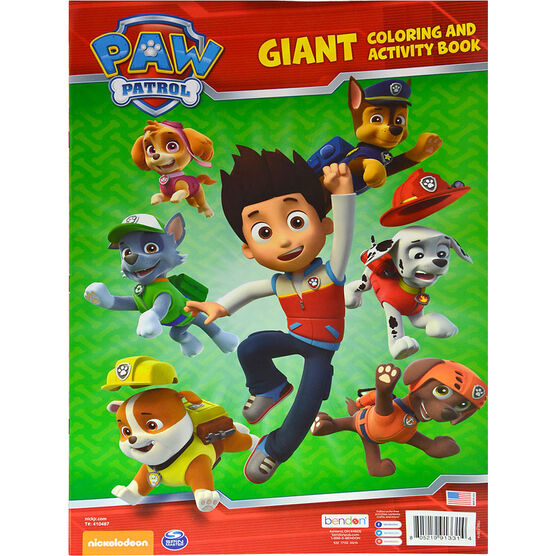 Paw Patrol Giant  Colouring and Activity Book