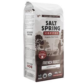 Salt Spring Organic Whole Bean Coffee - French Roast - 400g