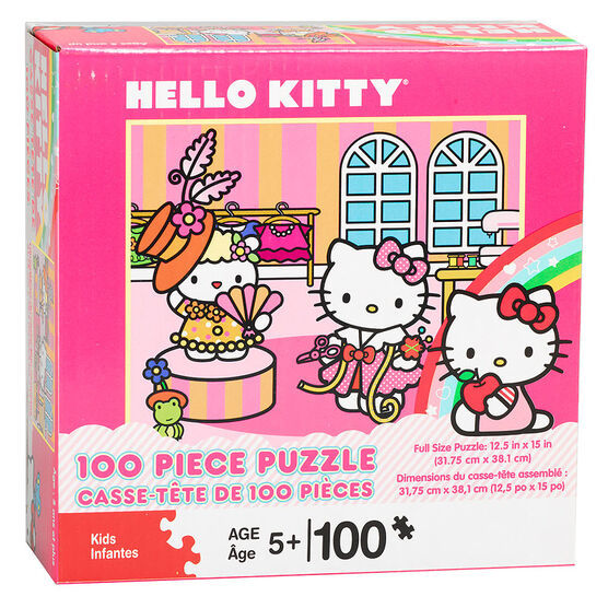 Hello Kitty Puzzle - 100 pieces