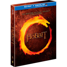 The Hobbit: The Motion Picture Trilogy - Blu-ray + Digital HD