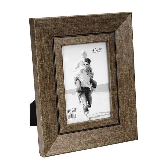 London Home Picture Frame - Olive Texture - 4x6in