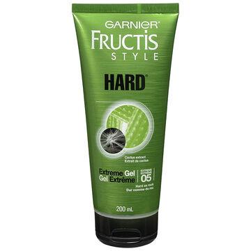Garnier Fructis Style Hard Gel - Extreme - 200ml