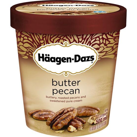 Haagen Dazs - Butter Pecan - 500ml