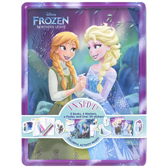 Disney Frozen Northern Lights Happy Tin