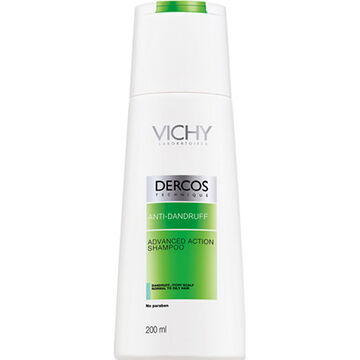 Vichy Dercos Anti-Dandruff Shampoo - Normal to Oily Hair - 200ml