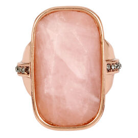 Kenneth Cole Stone Ring - Rosegold