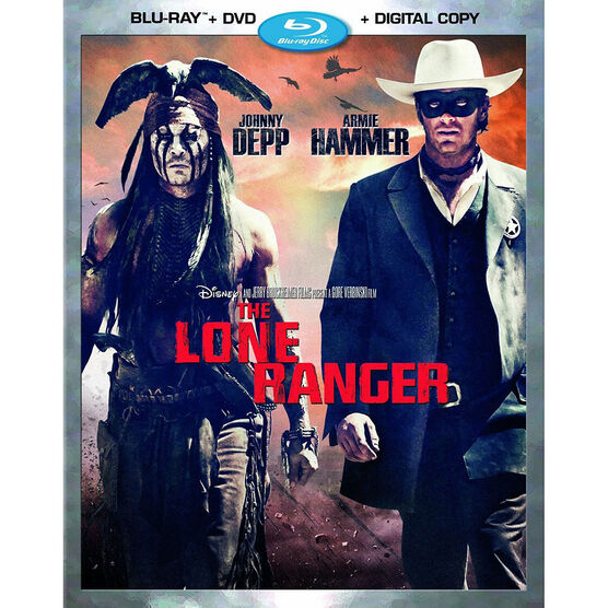 The Lone Ranger - Blu-ray + DVD + Digital Copy