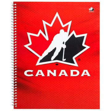 Hockey Canada Coil Notebook