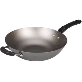 London Drugs Cast Iron Wok - 32cm - FC32E2