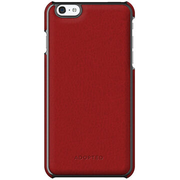 Adopted Leather Case for iPhone 6 Plus - Red/Gunmetal - APH13129