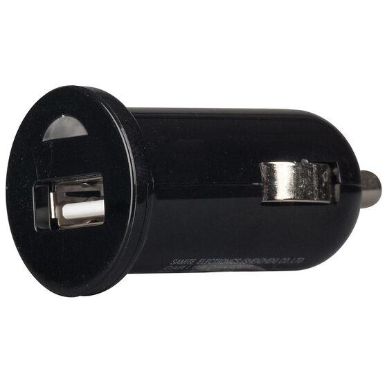RCA 2.1 Amp USB Car Charger - Black - USB121BKV