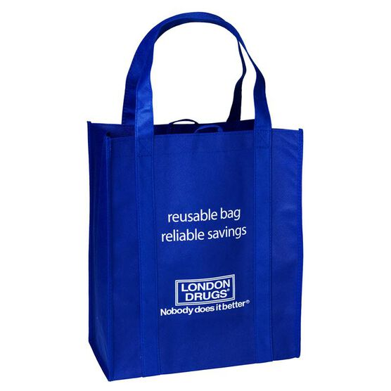 London Drugs Reusable Shopping Bag - 13 x 15.5 x 7.5inch