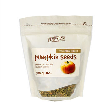 London Plantation Pumpkin Seeds - Roasted & Salted - 300g