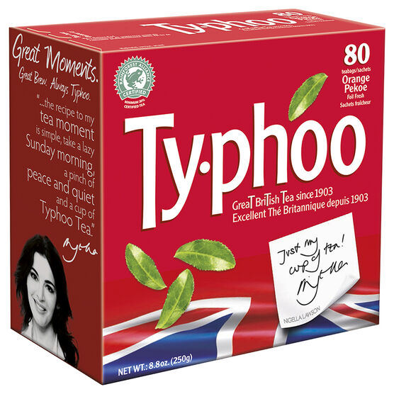 Typhoo Orange Pekoe Tea - 80's