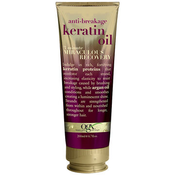OGX 3 Minute Miraculous Recovery with Keratin Oil - 200ml