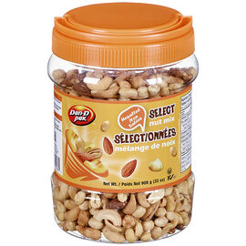 Dan-D-Pak Select Nut Mix - Unsalted - 908g