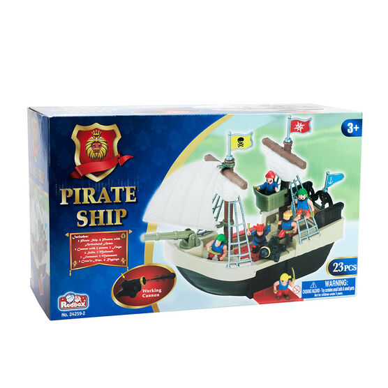 Red Box Pirate Ship